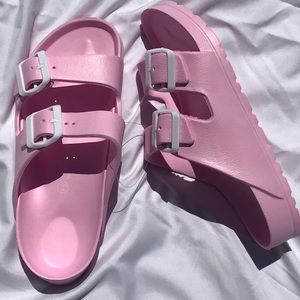 Shoes - Only 2 Pair Left / Pink Sandals